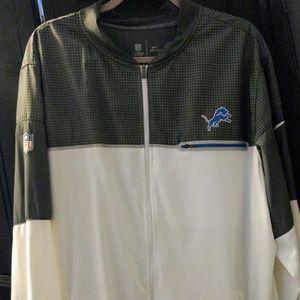 Nike Dri Fit Detroit Lions light weight jacket